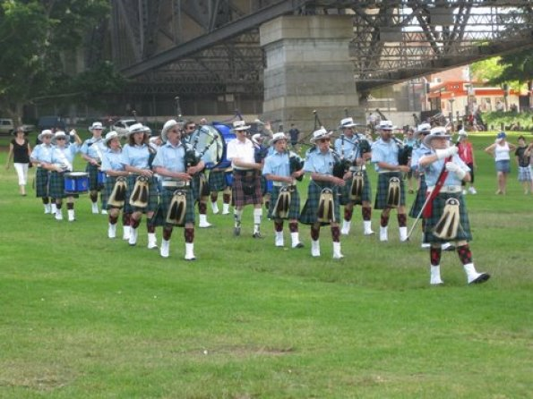 Clan McLeod Pipe Band