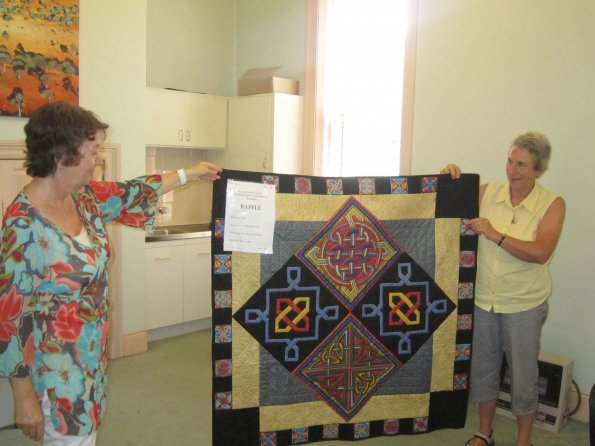 Quilt that was raffled