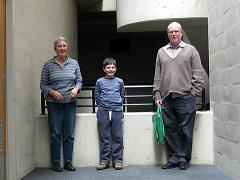 Barbara, Finlay and Rod